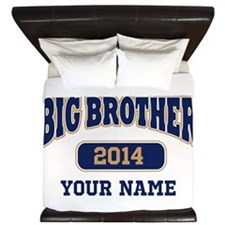 Personalized Big Brother King Duvet