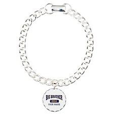 Personalized Big Brother Charm Bracelet, One Charm
