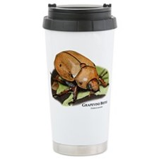 Grapevine Beetle Ceramic Travel Mug