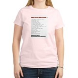 Worst of the Worst Movies '06 Women's Pink T-Shirt