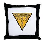 War Dept OSS Throw Pillow