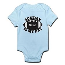 Personalized Sunday is My Day Infant Bodysuit