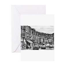 Dale Road - Matlock | BW Greeting Cards