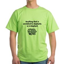 Elephants are not irrelephant T-Shirt