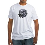 Heavy Metal 8 Fitted T-Shirt