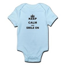 KEEP CALM AND SMILE ON Body Suit