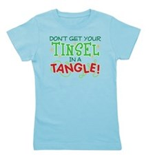 TINSEL IN A TANGLE Girl's Tee