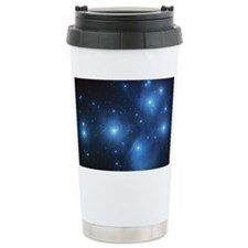 The Pleiades Star Cluster Ceramic Travel Mug