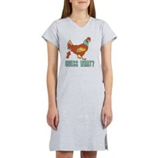 Chicken Butt! Women's Nightshirt