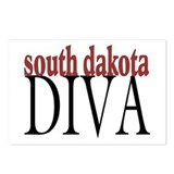 South Dakota Diva Postcards (Package of 8)