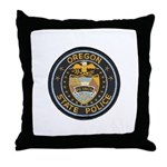 Oregon State Police Throw Pillow