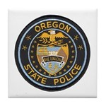 Oregon State Police Tile Coaster