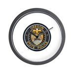 Oregon State Police Wall Clock