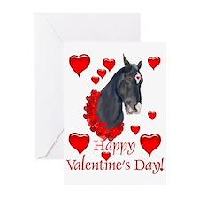 Equine Valentine Greeting Cards (Pk of 10)