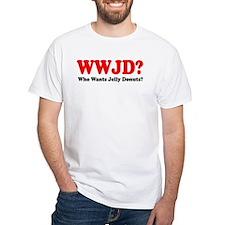 WWJD Who Wants Jelly Donuts Shirt