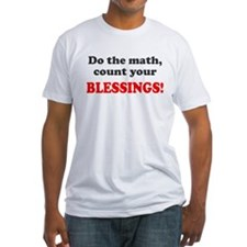 Do the math count blessings Shirt