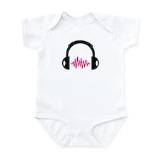Headphones Frequency Pulse Infant Bodysuit