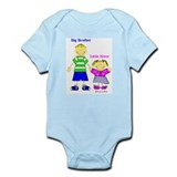 Big Brother Little Sister Onesie