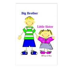 Big Brother Little Sister Postcards (Package of 8)