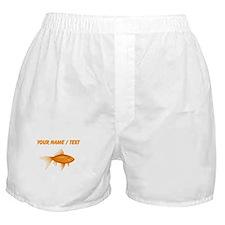 Custom Goldfish Boxer Shorts