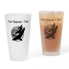 Custom Canadian Geese Drinking Glass