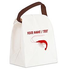 Custom Crawfish Canvas Lunch Bag