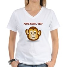 Custom Monkey Face T-Shirt