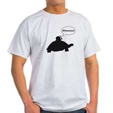 Snail Turtle Wheeee T-Shirt