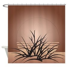 Art Deco Sand Dune Shower Curtain