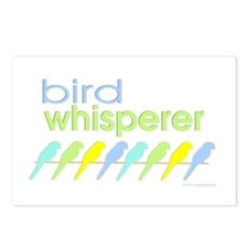 bird whisperer Postcards (Package of 8)