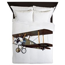 Camel Biplane Fighter Queen Duvet