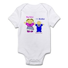 Big Sister and Little Brother Infant Bodysuit
