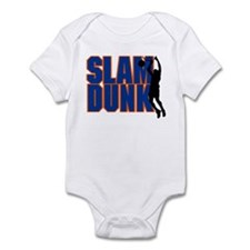 Slam Dunk Basketball Infant Bodysuit