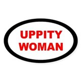 UPPITY... Oval Decal