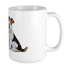Fox Terrier Happiness Ceramic Mugs