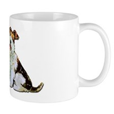 Fox Terrier Happiness Small Mugs
