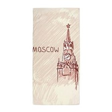 Moscow Beach Towel