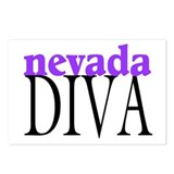 Nevada Diva Postcards (Package of 8)