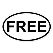 Sticker Oval - Free