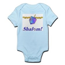 Hanukkah Shalom Infant Creeper