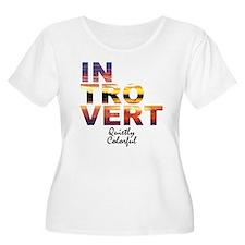 Quietly colorful sunrise Plus Size T-Shirt