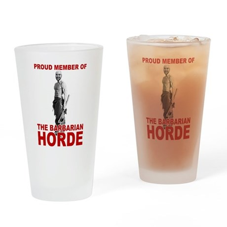 Barbarian Horde - Drinking Glass