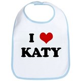I Love KATY Bib