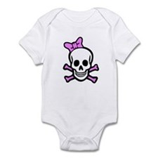 Ms. Skull Infant Bodysuit