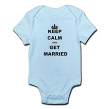 KEEP CALM AND GET MARRIED Body Suit