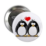 "Love Penguins 2.25"" Button (10 pack)"