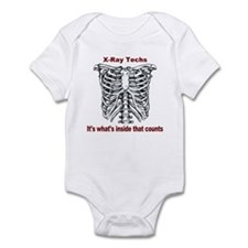X-Ray Techs Inside Infant Bodysuit