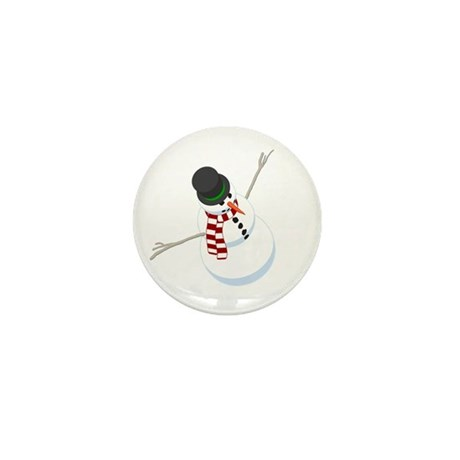 Bliz the Snowman Mini Button