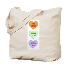 Conversation Hearts Tote Bag