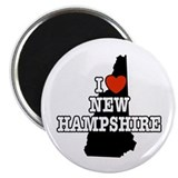 I Love New Hampshire Magnet